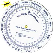 Daily Date Wheel
